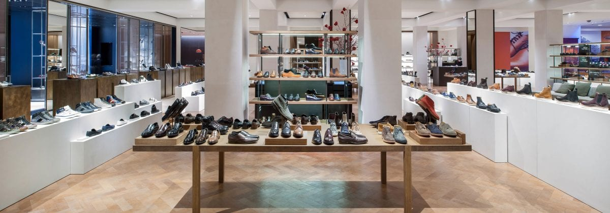 52bc9a3f7e6 A Bespoke Leather Floor by Bill Amberg Studio for Selfridges
